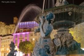 Fontaine dans Baixa, Lisbonne, Avril 2017