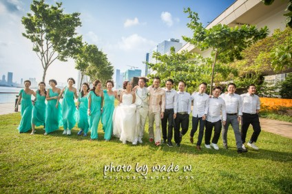 Photo by wade W. Wedding Day 婚禮