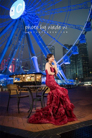 hong kong pre-wedding photo by wade w wheel thai central 婚紗1200