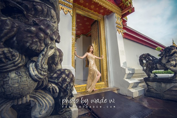 Bangkok Pre-wedding photo by wade w lavinia bride makeup