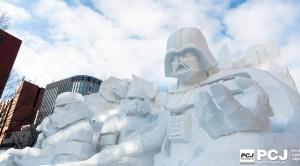 雪のスター・ウォーズ