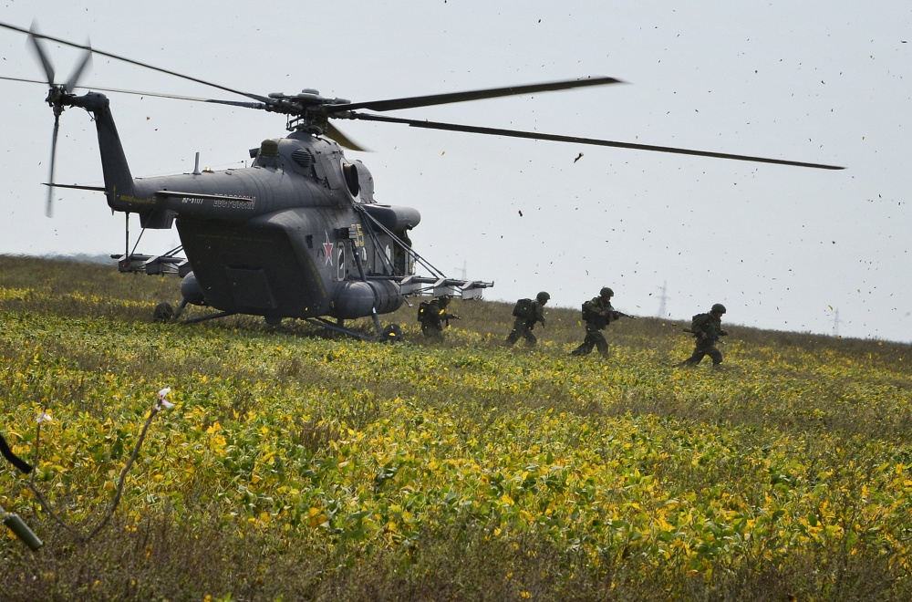 Mi-8 helicopter is used by over 50 countries