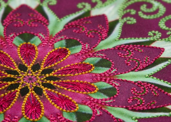 Filigrees Embroidery Design #1 by Jeanie Sumrall-Ajero