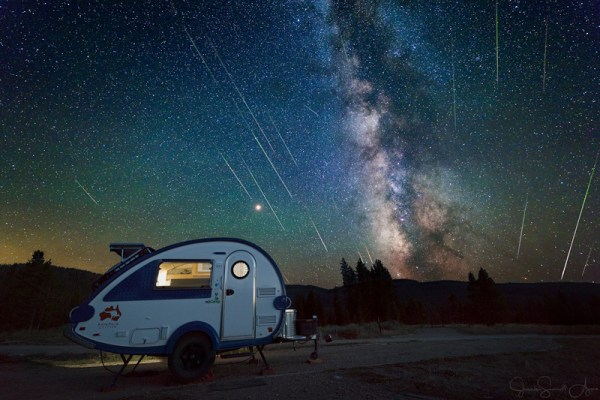 Perseids & Milky Way 2018 by Jeanie Sumrall-Ajero