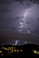 Lightening Strike on Stringer's Ridge Chattanooga