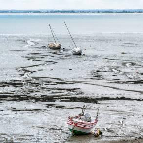 la marée basse de Bretagne