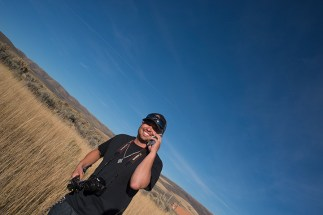 Robert McGill at Chesterfield, Idaho