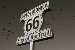 Santa Monica, End of HWY 66