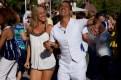 Salsa dancing at LACMA
