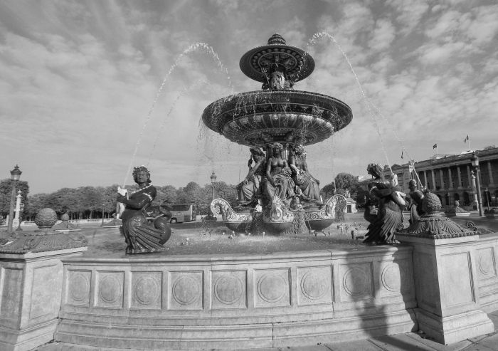 Fountain of River Commerce and Navigation, Place de la Concorde, Paris