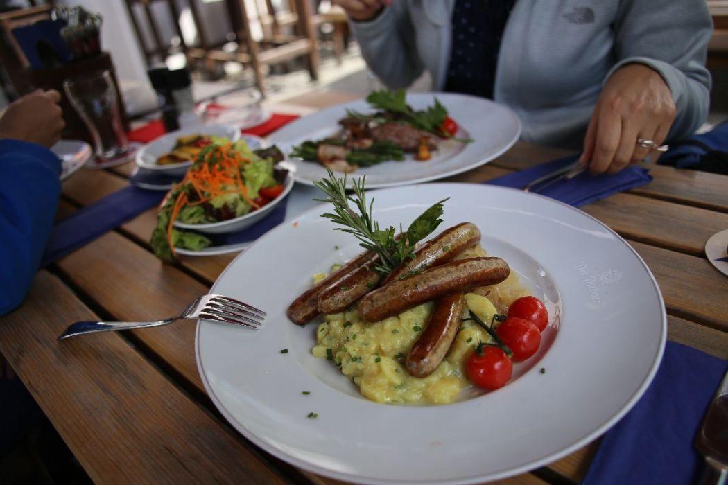 Quintessential Bavarian food
