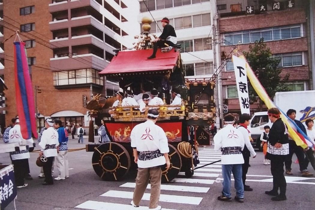 Vintage photo reportage: Kyoto Festival 2001