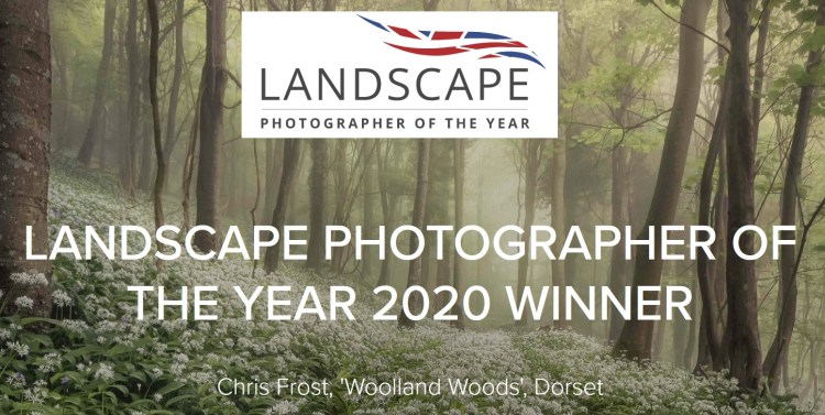 Landscape Photographer of the Year 2021 - logo