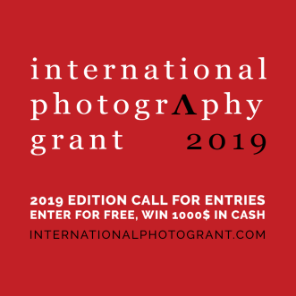 International Photography Grant 2019 - logo