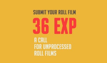 36EXP // a call for unprocessed roll film - logo