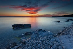 Beach Bruce Peninsula National Park Ontario