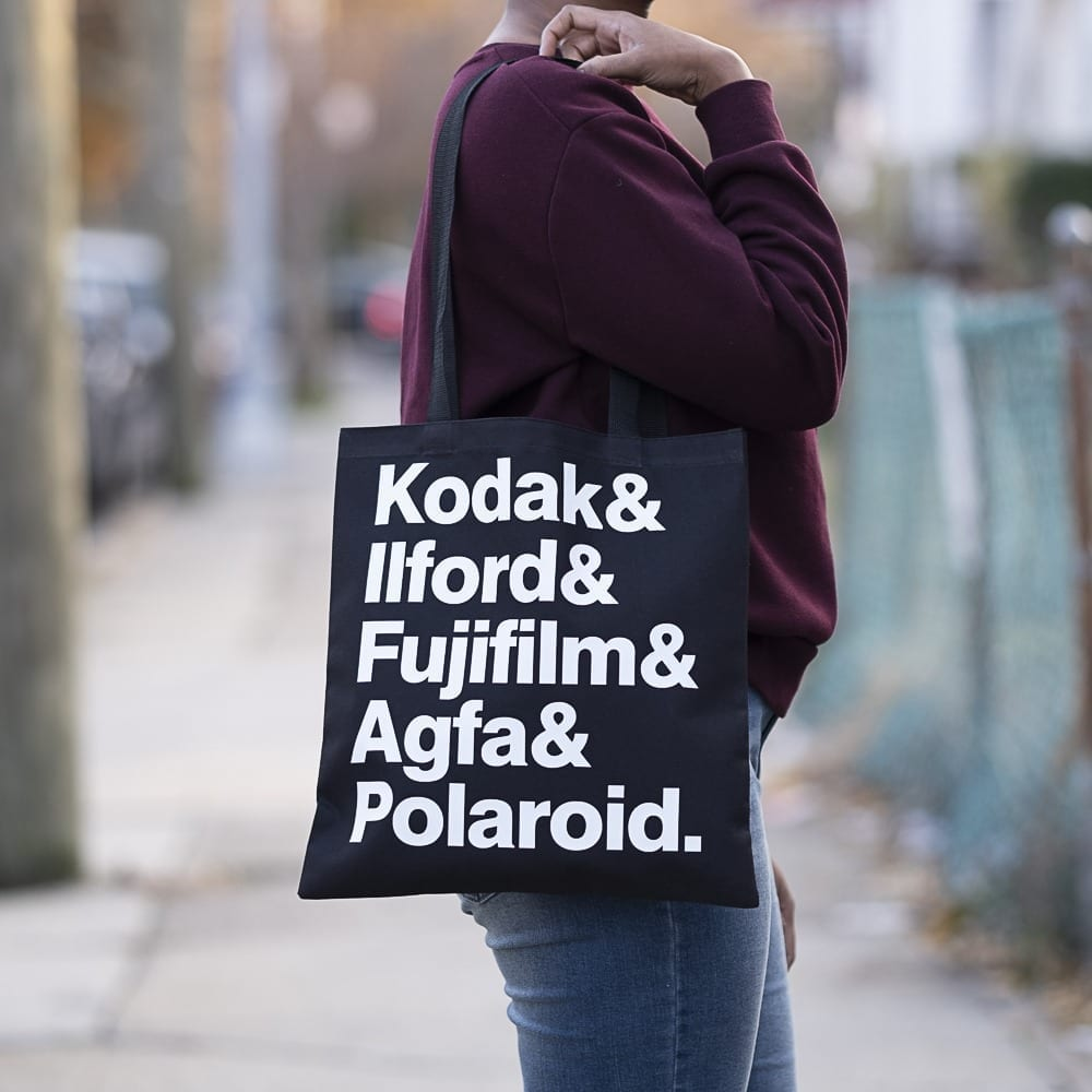 Kodak, Ilford, Fujifilm, Agfa and Polaroid Canvas Tote Bag