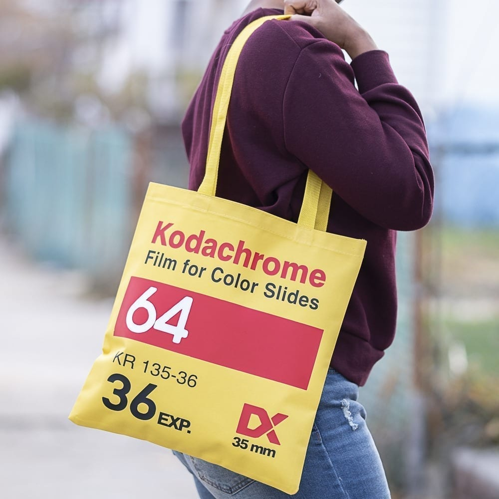 Kodachrome Canvas Tote Bag