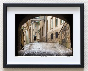 Fine art street photography Luxembourg