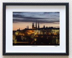 luxembourg city fine art print
