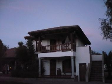 Hacienda at night