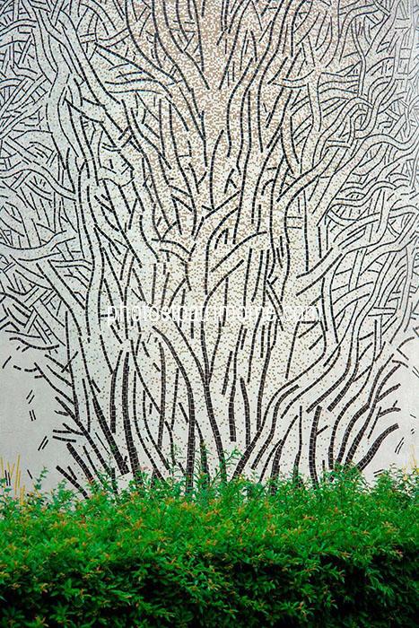Les trois arbres - Guy-Rachel Grataloup © Michel Bourguet