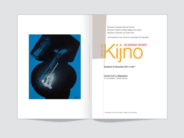 invitation Kijno, Les grandes œuvres