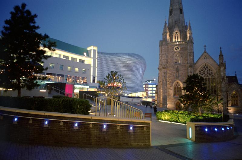 Free Stock Photo Of Central Birmingham And The Bullring At
