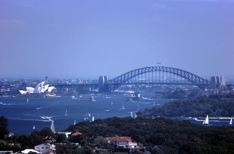 View of Sydney Harbour by photoeverywhere.co.uk