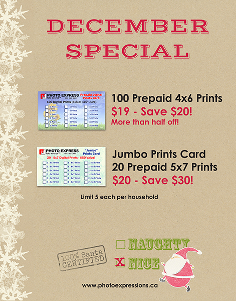 Discount Prints from Photo Express