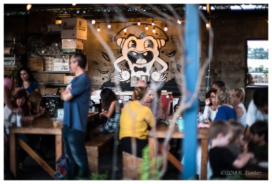 Spoke Bicycle Cafe, 2018 Frogtown Art Walk