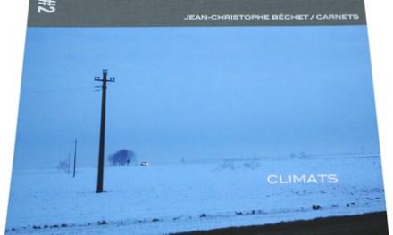 Les carnets de Jean-Christophe Béchet