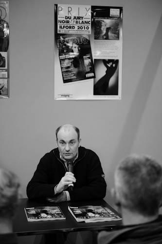 Philippe Bachelier au micro (Larsen un peu aussi)