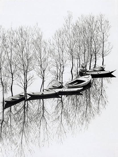 Toni Schneiders, Floodwater at the Skutarisee, 1971 © Toni Schneiders - Courtesy Galerie Bernheimer