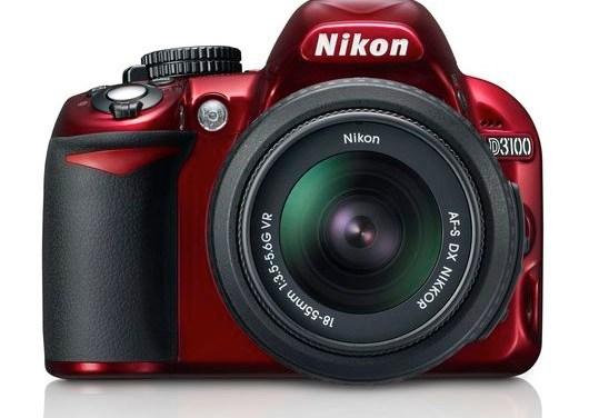 Nikon voit rouge