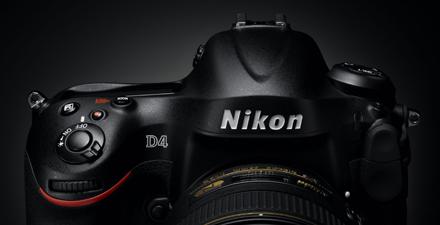 Le Nikon D4 arrive mi-février