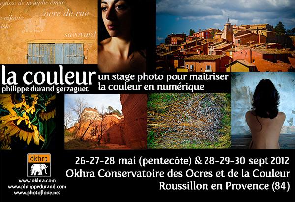 Stage photo à Roussillon le week-end de Pentecôte
