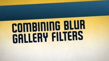 Complete Control of Creative Blurring