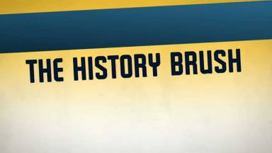 Multiple Undos and Paint Backwards in Time with the History Brush