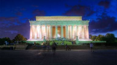 Washington, DC at Night (Time-lapse + HDR Toning)