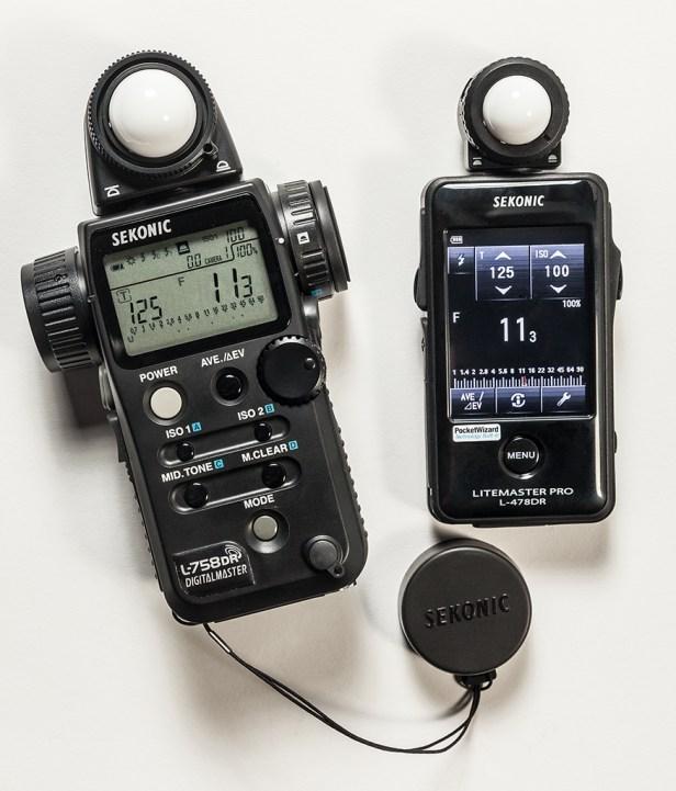 Sekonic ioncident light meters