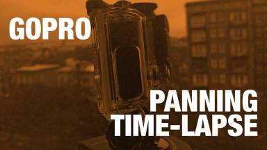 Panning Time-lapse from a GoPro