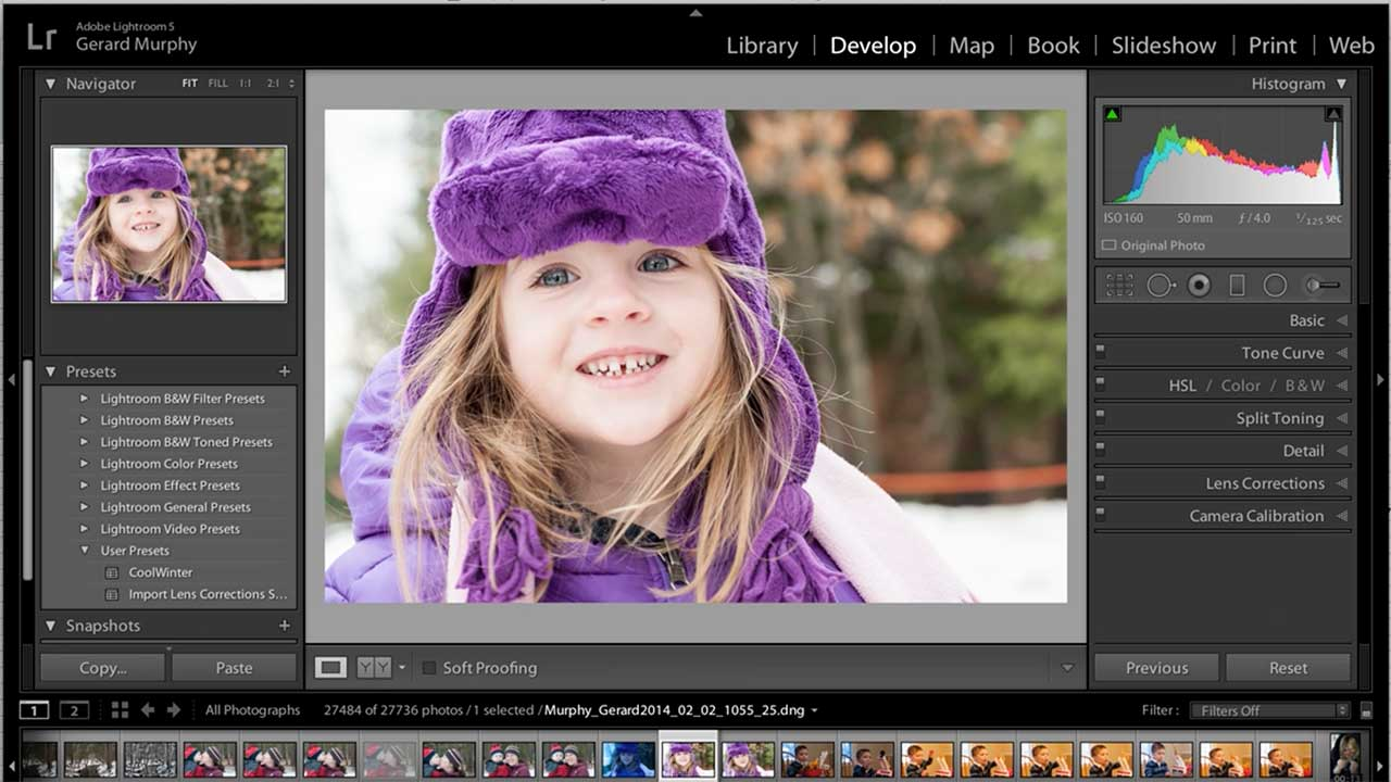 Using The Adjustment Brush and Auto Mask in Lightroom