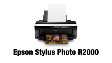 Epson Stylus Photo R2000 Wireless Wide-Format Color Inkjet Printer – Mini Review