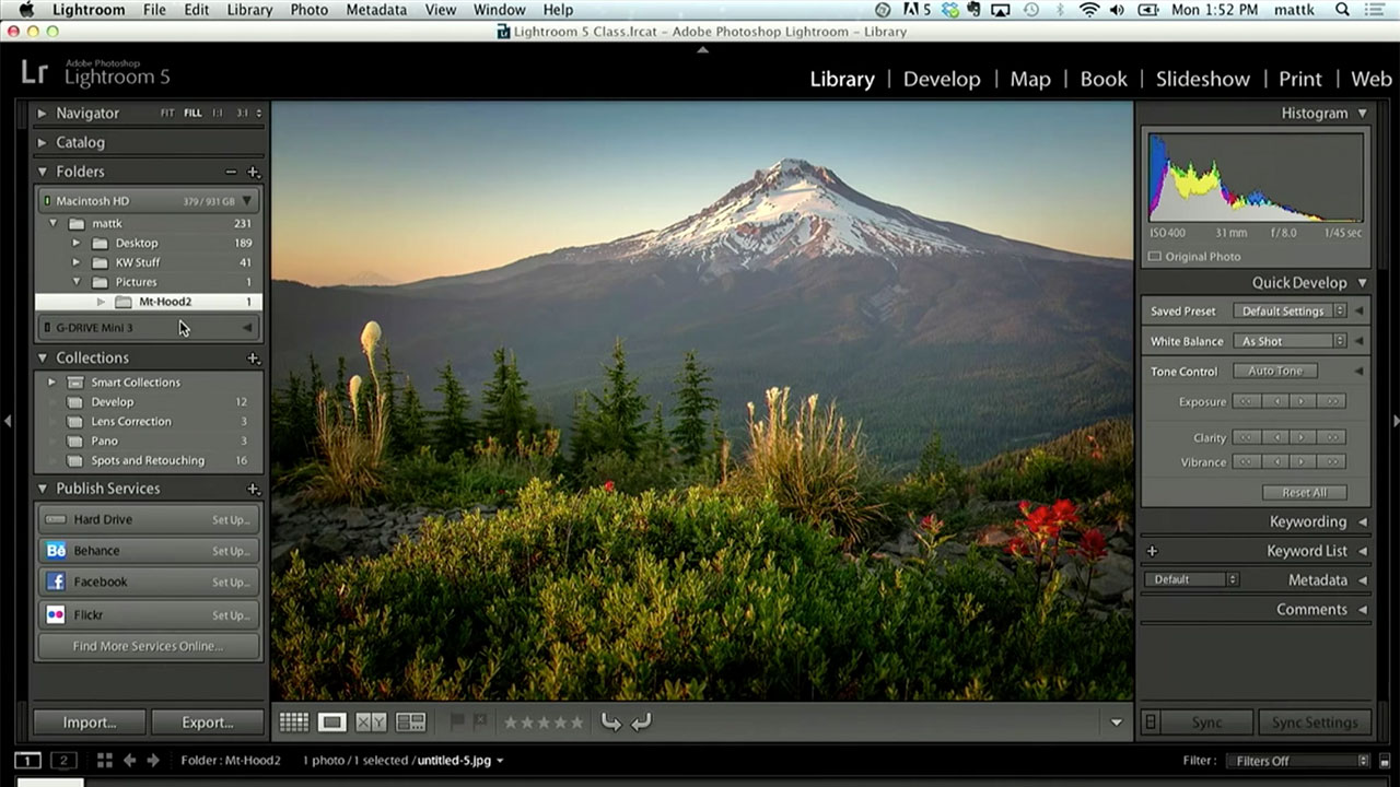 Get Organized with Folders in Lightroom