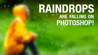 Create Raindrops on a Frosted Window in Photoshop
