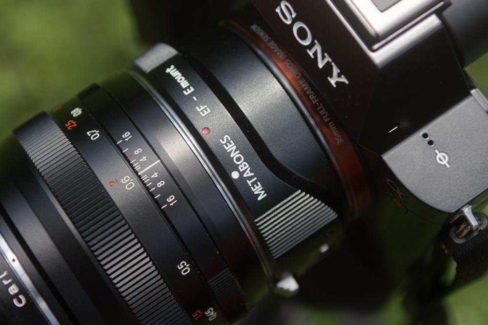Metabones II Canon to E-mount Adapter