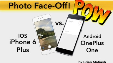 Photo Face Off: iPhone 6 vs Android