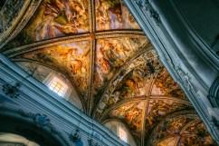 Lipari church ceiling