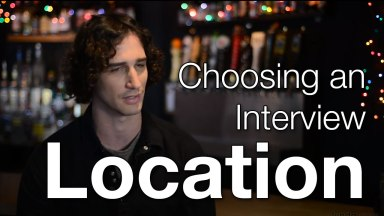 How to Choose the Right Location for a Video Interview